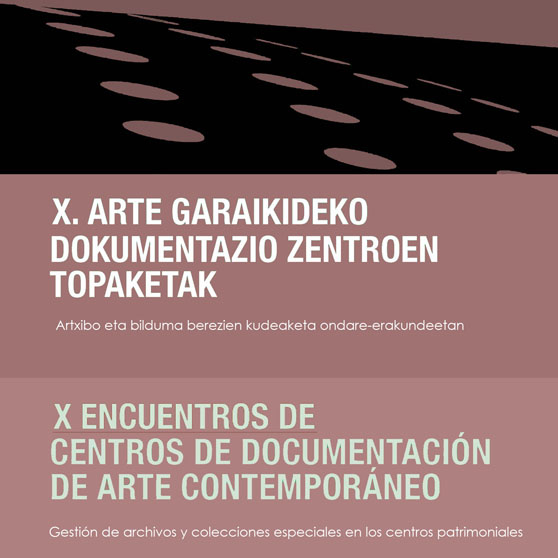 X Encounter of Contemporary Art Documentation Centres